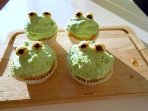 Kermit der Frosch Muffins